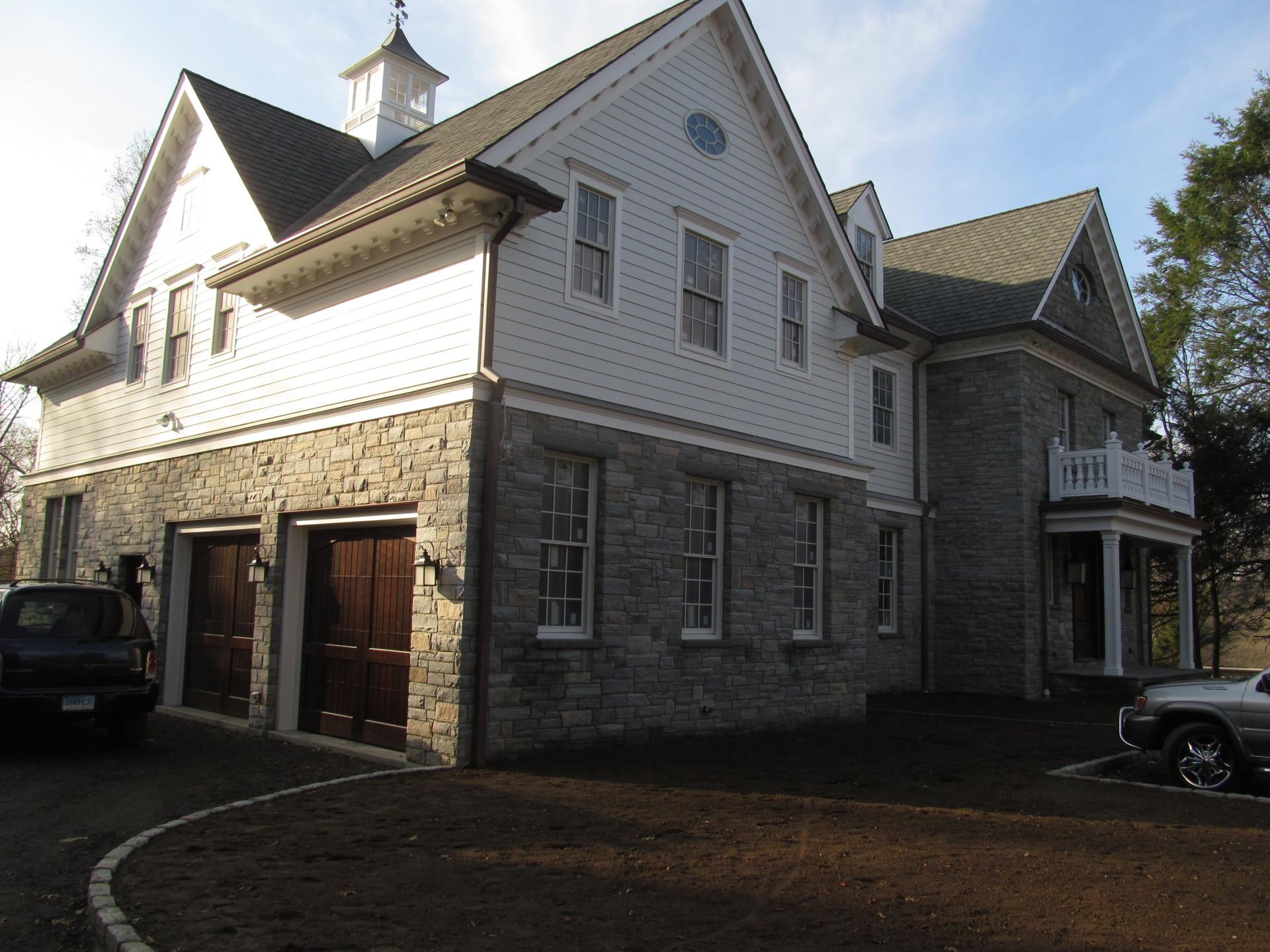 Stone Veneer House2